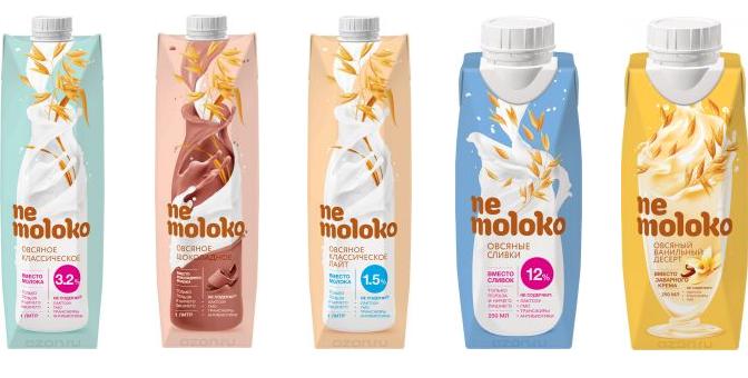 В России поступило в продажу овсяное «молоко» Nemoloko